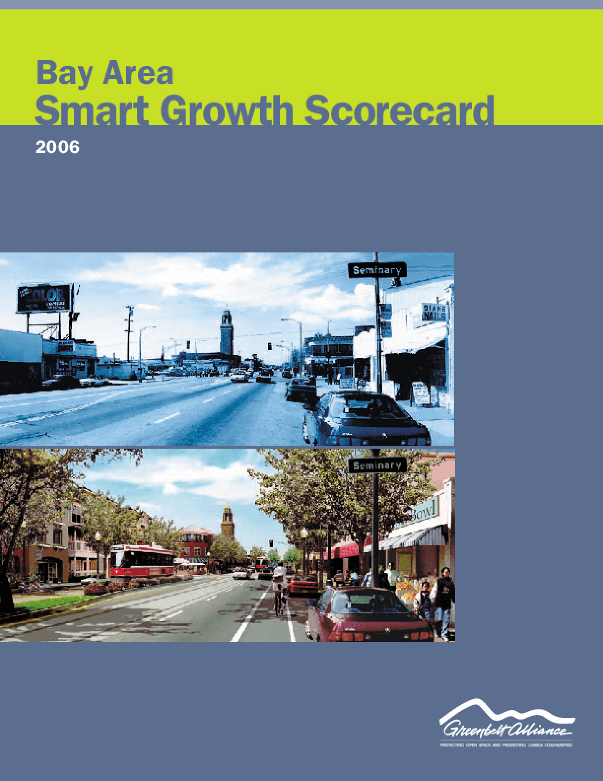 Bay Area Smart Growth Scorecard