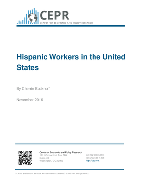 Hispanic Workers in the United States