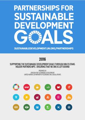 Partnerships for Sustainable Development Goals 2016