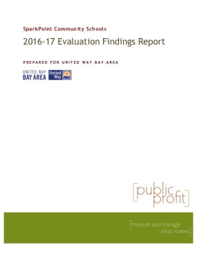 2016-17 Sparkpoint Community Schools Evaluation Findings Report