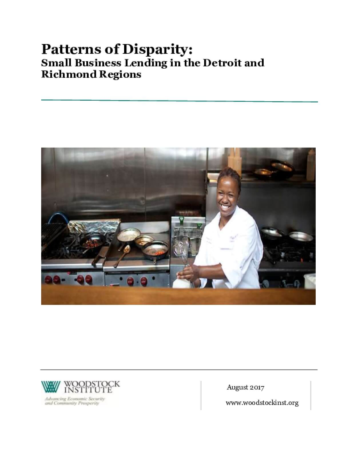 Patterns of Disparity: Small Business Lending in the Detroit and Richmond Regions