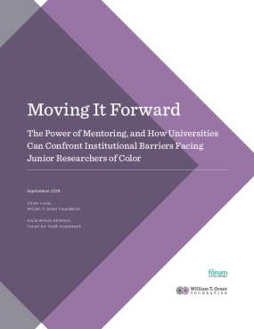 Moving it Forward: The Power of Mentoring, and How Universities Can Confront Institutional Barriers Facing Junior Researchers of Color