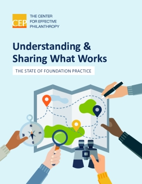 Understanding & Sharing What Works: The State of Foundation Practice
