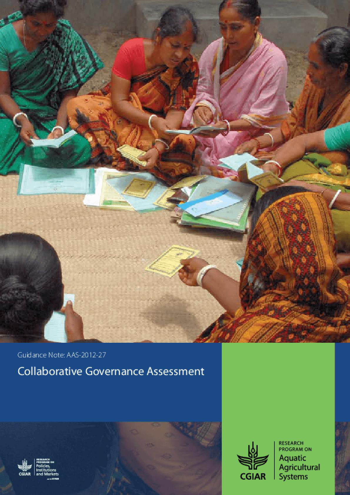 Collaborative Governance Assessment