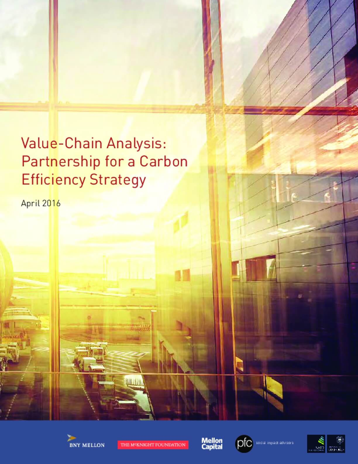 Value-Chain Analysis: Partnership for a Carbon Efficiency Strategy