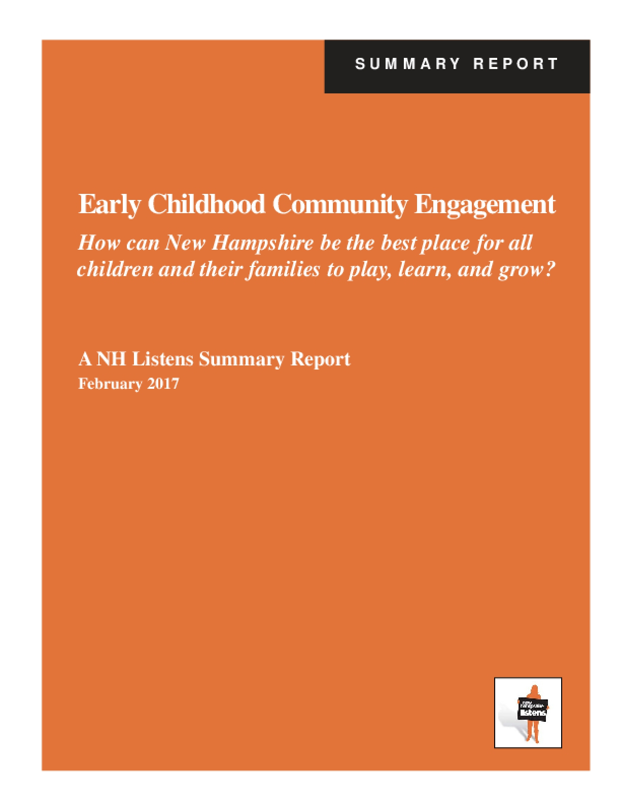Early Childhood Community Engagement