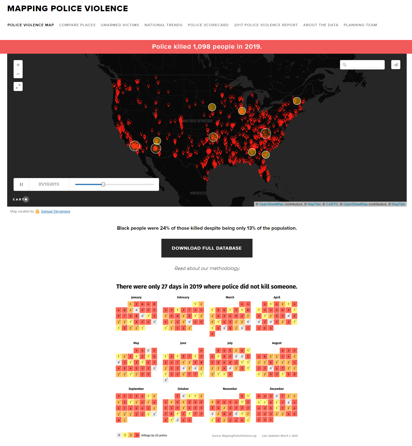 Mapping Police Violence