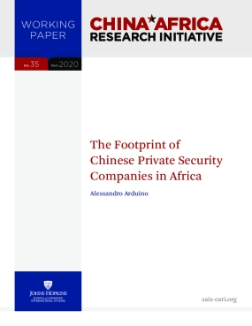 Footprint of Chinese Private Security Companies in Africa
