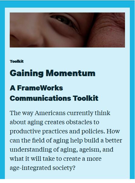 Gaining Momentum: A FrameWorks Communications Toolkit