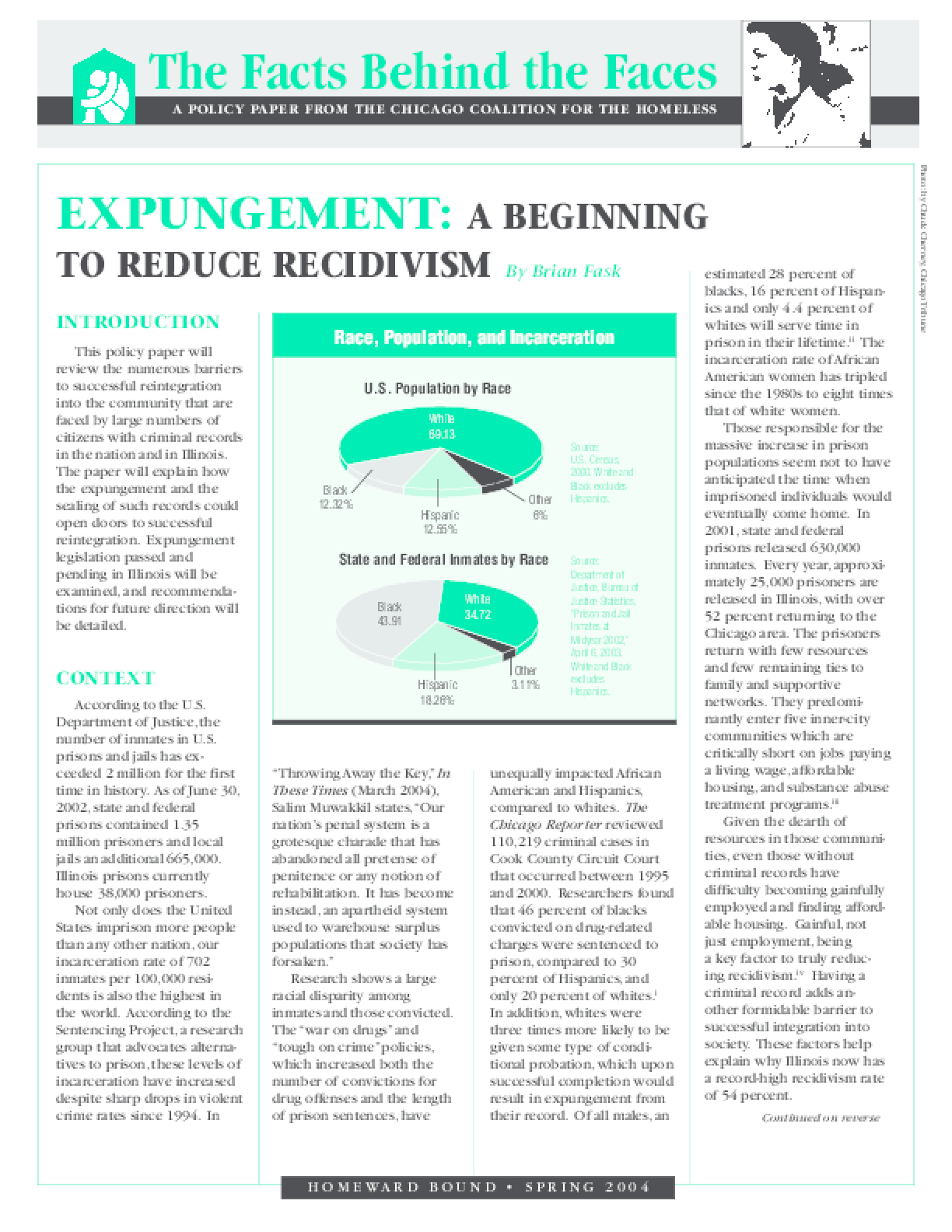 Expungement: A Beginning to Reduce Recidivism