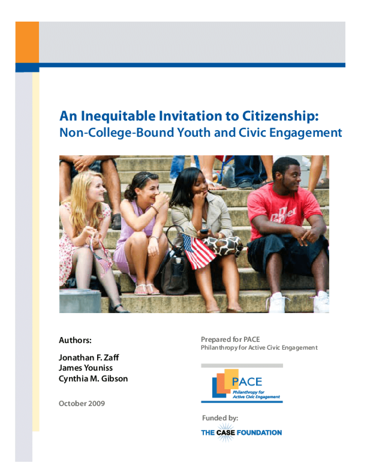 An Inequitable Invitation to Citizenship: Non-College-Bound Youth and Civic Engagement